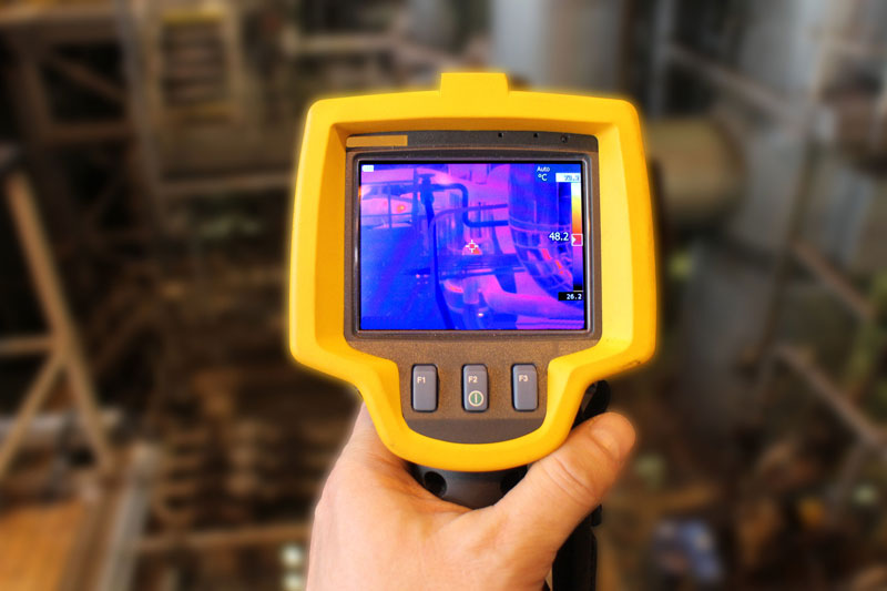 infrared and pipeline electronic inspection tool